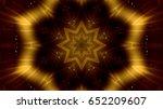 abstract gold lights | Shutterstock . vector #652209607