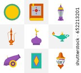 set of quality isolated... | Shutterstock .eps vector #652213201