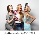 lifestyle and people concept ... | Shutterstock . vector #652215991