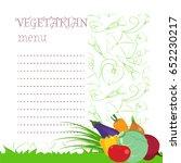 vector illustration. natural...   Shutterstock .eps vector #652230217