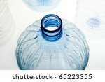 Kunststoffwasserflasche Plastic bottle - stock photo