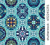vector seamless texture.... | Shutterstock .eps vector #652241251