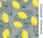 fashion seamless vector pattern....   Shutterstock .eps vector #652260115