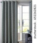 beautiful living room in new... | Shutterstock . vector #652262821
