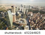 istanbul view from air shows us ... | Shutterstock . vector #652264825