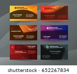 abstract professional and... | Shutterstock .eps vector #652267834