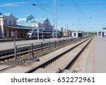 railway in summer   Shutterstock . vector #652272961
