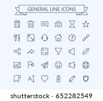 general vector icons set 2....