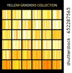 yellow color gradients... | Shutterstock .eps vector #652287565