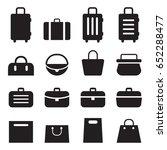 bag set  | Shutterstock .eps vector #652288477