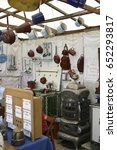 antiques at the auer dult fair... | Shutterstock . vector #652293817