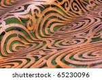 abstract steel artwork with... | Shutterstock . vector #65230096