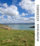 the beautiful anglesey... | Shutterstock . vector #652306801