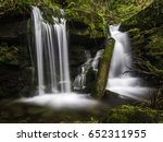 Travensky Waterfall. A...