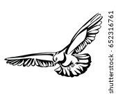 pigeon   Shutterstock .eps vector #652316761