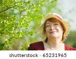 Portrait Of Senior Woman...