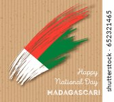 madagascar independence day... | Shutterstock .eps vector #652321465