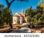 orthodox church  prophet elijah ... | Shutterstock . vector #652325281