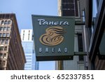 chicago   june 1  2017  panera... | Shutterstock . vector #652337851