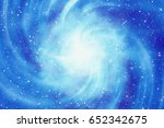 white flash on space background.... | Shutterstock . vector #652342675