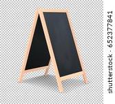 realistic special menu...   Shutterstock .eps vector #652377841