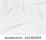 overlay wave stripe background... | Shutterstock . vector #652383304