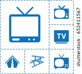 show icon. set of 6 show filled ...   Shutterstock .eps vector #652411567