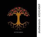 vector logo design template and ...   Shutterstock .eps vector #652414069