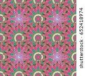 seamless pattern abstract...   Shutterstock . vector #652418974