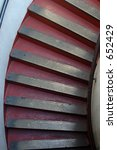 coit tower stairs  san... | Shutterstock . vector #652429