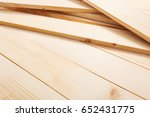 natural color pine wood... | Shutterstock . vector #652431775