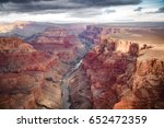 view over the south and north... | Shutterstock . vector #652472359