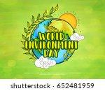 illustration of world... | Shutterstock .eps vector #652481959