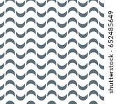 vector wave pattern. geometric... | Shutterstock .eps vector #652485649