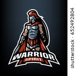 the roman warrior logo. | Shutterstock .eps vector #652492804