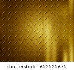gold metal texture background   Shutterstock . vector #652525675