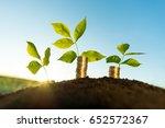 money growth concept | Shutterstock . vector #652572367