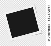 square frame template with... | Shutterstock .eps vector #652572964