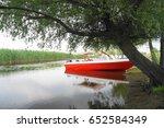 landscape from the danube delta ... | Shutterstock . vector #652584349