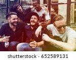 craft beer booze brew alcohol... | Shutterstock . vector #652589131