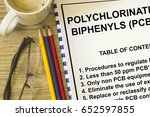 polychlorinated biphenyls  ... | Shutterstock . vector #652597855