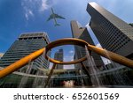 the fountain of wealth as the... | Shutterstock . vector #652601569