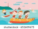 Landscape With Cute Children I...