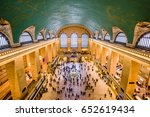 new york city   october 28 ... | Shutterstock . vector #652619434