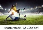 football hottest moments | Shutterstock . vector #652655524