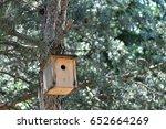 bird nest  | Shutterstock . vector #652664269