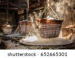 rock salt nan thailand | Shutterstock . vector #652665301