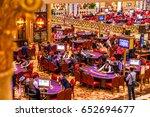 macau  china   december 9  2016 ... | Shutterstock . vector #652694677