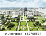 Aerial Of Baton Rouge With...