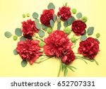 beautiful composition with... | Shutterstock . vector #652707331